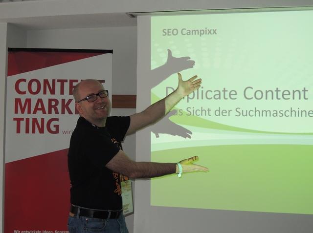 Thomas Zeithaml - Vortrag zu Duplicate Content aus Sicht der Suchmaschinen