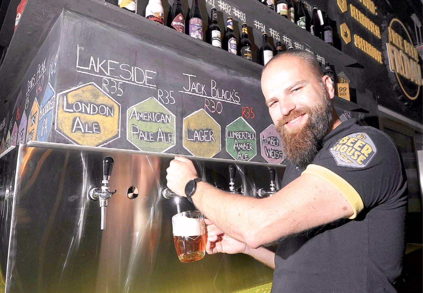 Randolf Joberg im Beerhouse